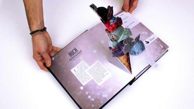 HARD. The interactive Bookazine.