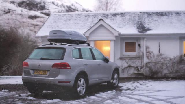 Colin Melville - VW - Winter Wonderland ad