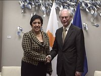 Meeting with Minister for Foreign Affairs of Cyprus, KOZAKOU-MARCOULLIS