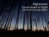 Afghanistan – touch down in flight