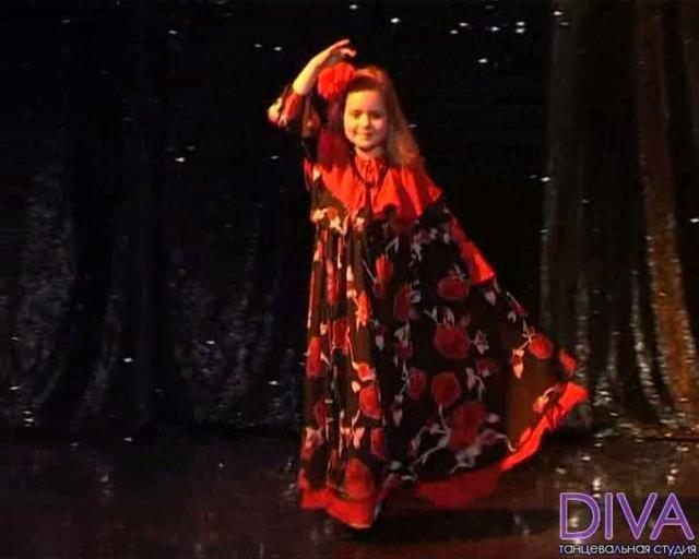 Отчетный концерт в Мюзик-холле. Испанская фантазия. Видео детского танца.