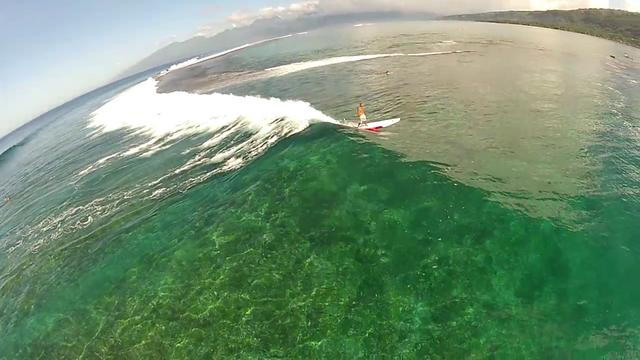 Lagoon Dreams, Standup Paddleboard Surfing