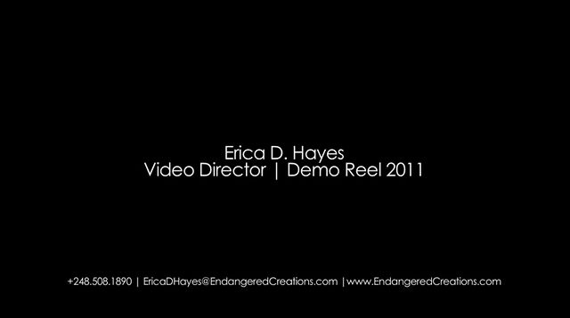 Erica D. Hayes | Video Director Demo Reel