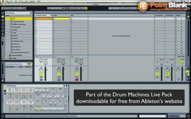 how to create a drum beat in ableton live