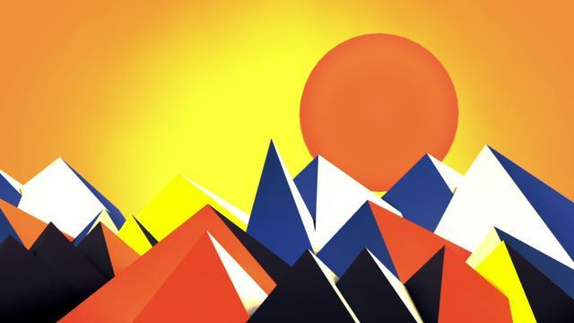 'Calder' Paintings in 3D