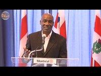 Hommage de la ville de Montréal à Bell Joseph Antoine
