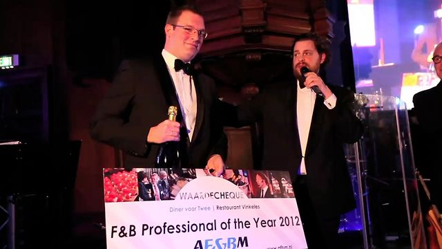 AF&amp;BM Gala | F&amp;B Professional of the Year 2012