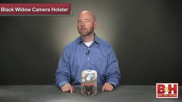 Spider Camera Holster Black