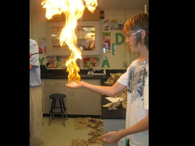 Year 5 Video 1  - Holding Fire
