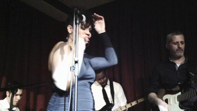 Shayna Steele @Bravo Caffè - I'm a Woman, I'm a Backbone -