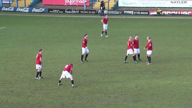FC United 2 v 0 Hednesford - Full Match [NPL 28:01:12]