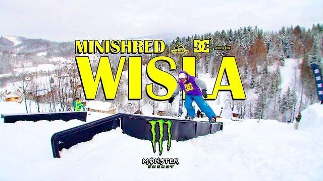 Otwarcie snowparku DC w Wiśle