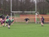 Goal Action - St Mary's v Coleraine, Jan 29