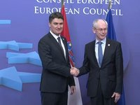 Meeting with Prime Minister of Croatia, Zoran MILOVANOVIĆ