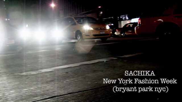 SACHIKA  New York Fashion Week