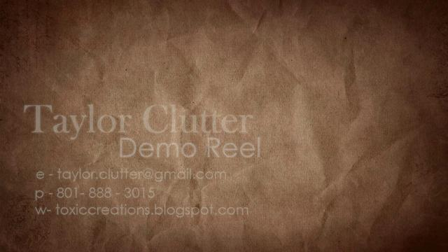Demo Reel Spring 2012