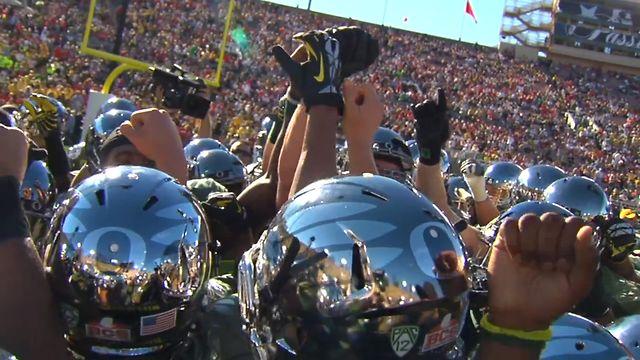 University of Oregon Football 2011-12
