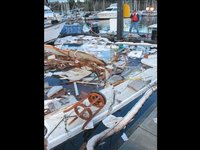 Port cleans up Sequim marina after explosion