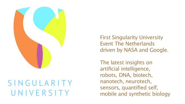 Singularity University NL event