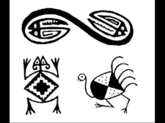 Dibujos aborigenes - Imagui