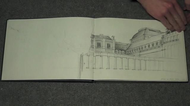 Skizzenbuch Paris