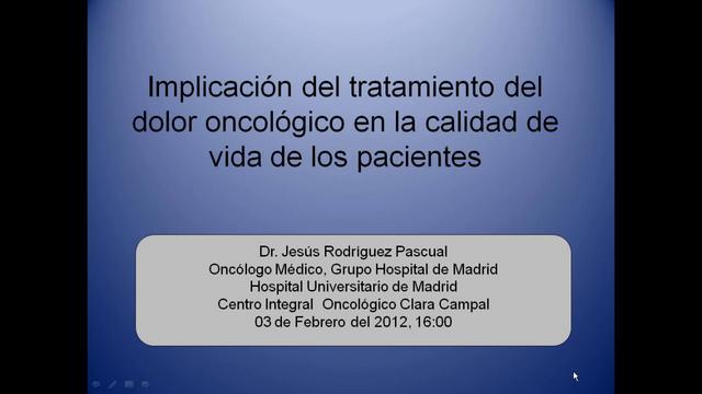 Seminarios online de GEPAC: Implicación del tratamiento