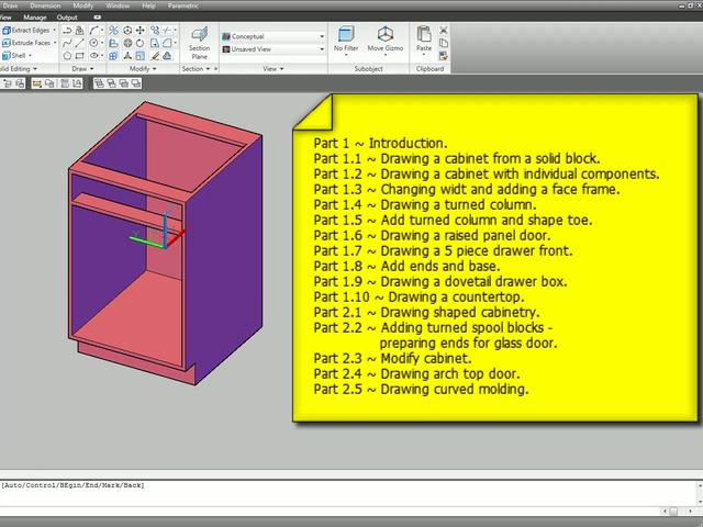 "Videos in ""Kitchen Design - 3D AutoCAD"" on Vimeo"