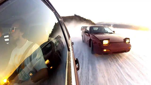 Zviedri driftina.