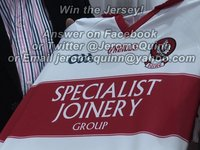 Win the new Derry Jersey!
