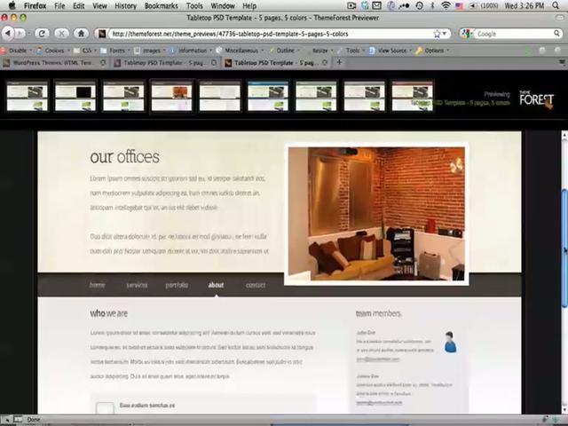 webmaster - Pasar un diseño de photoshop a html
