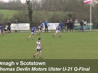 Goal! Scotstown v Omagh, Feb 5