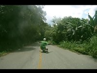 Downhill in the jungle
