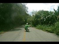 Downhill in the jungle