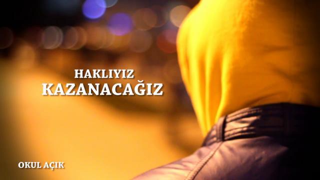 Haklıyız Kazanacağız (Fenerbahçe-Beşiktaş maçı koreografisi) Okul Açık