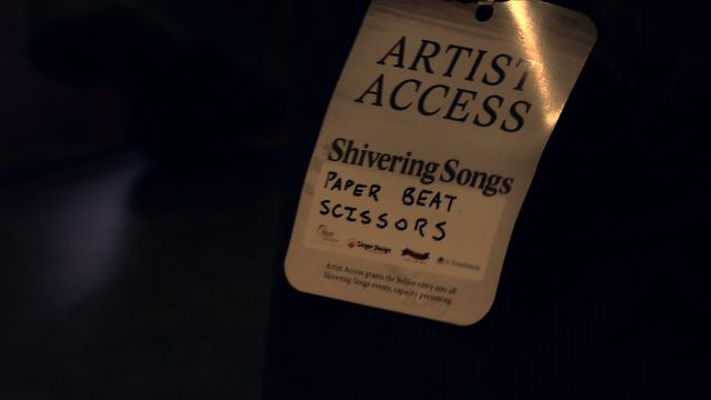 PAPER BEAT SCISSORS - Live at the Shivering Songs Festival