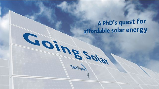 Going Solar - A PhD's quest for affordable solar energy