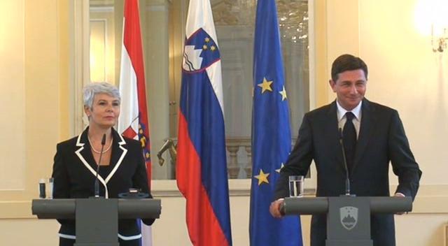 (www.vest.si) Premiera Pahor in Kosor - izjavi po sestanku