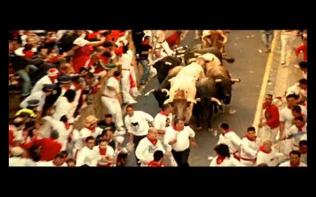 "Commercial- Brave Soldier ""Running with the Bulls"""
