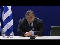 2012-02-10. Δήλωση Ευ. Βενιζέλου μετά τη λήξη του Eurogroup