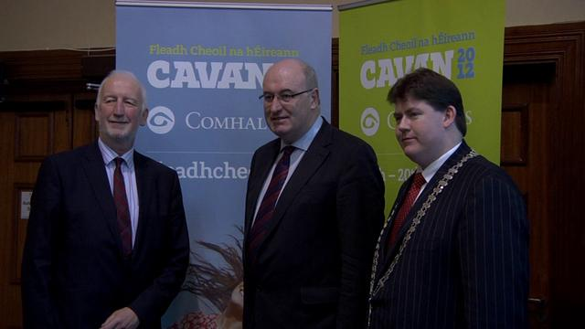 Mr. Phil Hogan, T.D., Minister for the Environment, Community and Local Government meets Cavan County Councillors Fri 10.2.2012