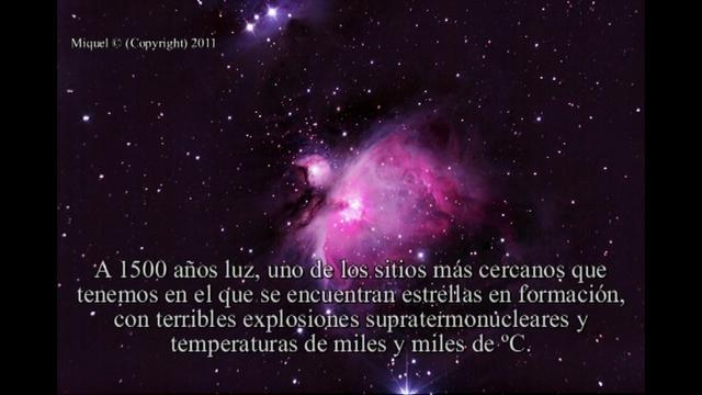 Nebulosa de Orión by Miquel