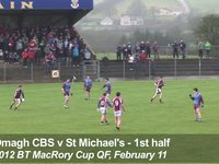 First-half Hilites - St Michael's v Omagh CBS