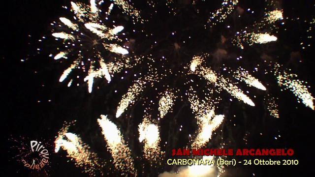 CARBONARA (Bari) - L'ARTIFICIOSA dei F.lli DI CANDIA (2010)