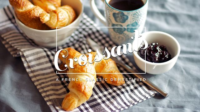 Make your own croissants