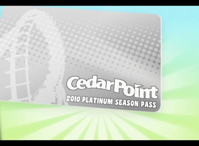 Cedar Point - Season Pass 2010