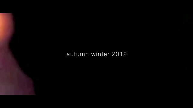 Watch | being|equal Autumn/Winter 2012