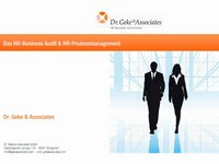 Das HR-Business Audit & HR-Prozessmanagement