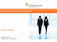 Das HR-Business Audit & HR-Prozessmanagement