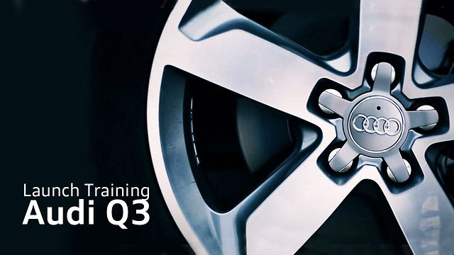 Audi Q3 Launch Training | Quattro School | 2012