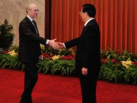Meeting with Chinese President, HU Jintao